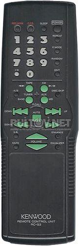 RC-G3 пульт для музыкального центра Kenwood RXD-G3 и др.