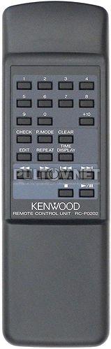 RC-P0202 пульт CD-проигрывателя Kenwood DP-2080