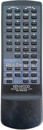 RC-R0704 пульт для AV-ресивера Kenwood KR-V7070