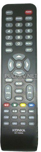 KK-Y099A пульт для телевизора KONKA KL24QS502