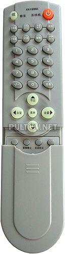 KK-Y286C пульт для телевизора Konka LC-TM3212