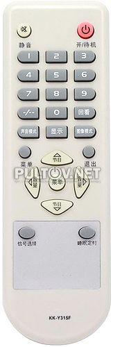 KK-Y315F пульт для телевизора KONKA LC26CS20 и др.