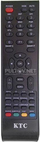 KTC RC-E23, ERISSON 15LK14 пульт для телевизора