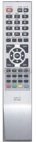 KTC RC-E22 пульт для телевизора KTC 37T71HD