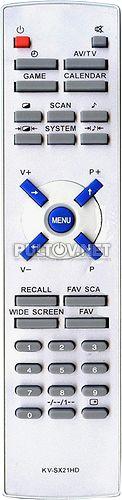 KV-SX21HD, FUNAI S2900PF пульт для телевизора