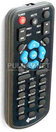 Kreolz SMP-251 пульт для HD-медиаплеера