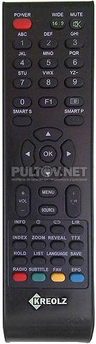 Kreolz LT-221W пульт для телевизора (варианта пульта 2)