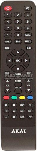 LEA-32B27M основной пульт для телевизора Akai