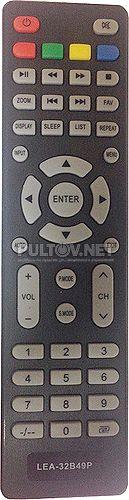 LEA-32B49P пульт для телевизора Akai