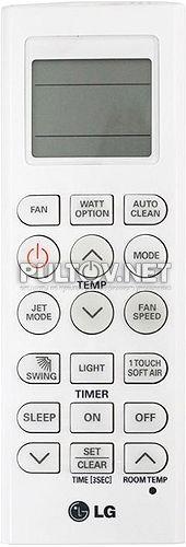 AKB74055420 пульт для кондиционера LG S09KWH и др.