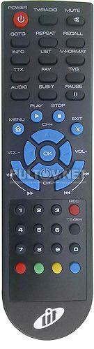 LIT 1420 PVR/HDMI пульт для DVB-T2-ресивера