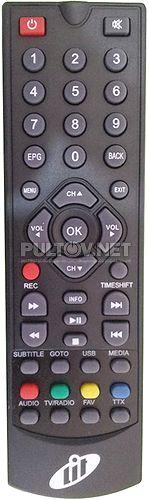 LIT 1430 HD, CADENA SHTA-1511S2, Rexant RX-521 пульт для DVB-T2-ресивера