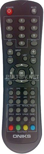 LT-4242D пульт для плазменного телевизора