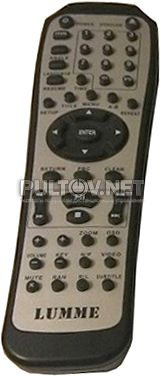 LUMME LU-900 пульт для DVD-плеера (вариант 2)
