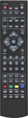 Lenco 87133 пульт для телевизора DVL-2690 и др.