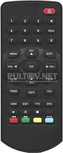 Lit 1300 HD пульт для DVB-T-ресивера