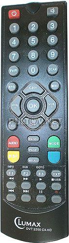 DVT-3200 CA HD пульт для DVB-T ресивера Lumax