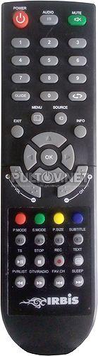 M24Q77HDL пульт для телевизора Irbis
