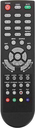 TZH-213D пульт для телевизора Rubin RB-19S5T2C и др.