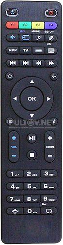 250 HD IPTV пульт для телевизионной приставки MAG (вариант 3)