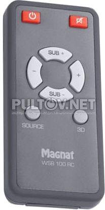 MAGNAT WSB 100 RC пульт для звуковой панели MAGNAT WSB 25