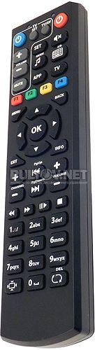 250 HD IPTV пульт для телевизионной приставки MAG (+ доп управление телевизором) вариант 2