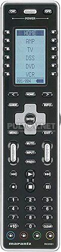 RC2001 пульт для AV-процессора Marantz AV8003