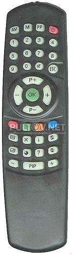 ПДУ-7 пульт для телевизора MB 0837 CTV и других