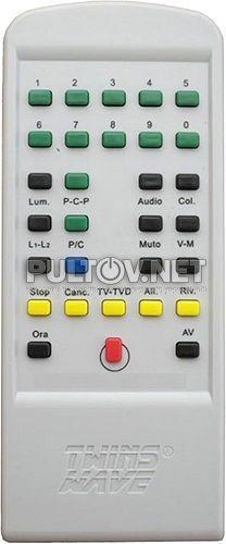 MIVAR 21S2 пульт для телевизора