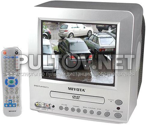 DVD-M-1010RU пульт для моноблока Miyota