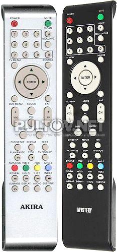 MTV-2417WHD , AKIRA TC1860F1 пульт для телевизора со встроенным DVD LCT-D19MT02ST