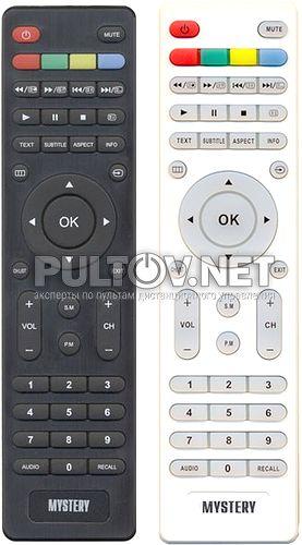 KT1045 неоригинальный пульт для телевизора Mystery MTV-2622LW и др.