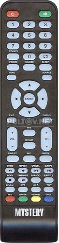 507DTV пульт для телевизора Mystery MTV-4228LTA2