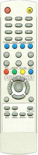 LXL-970MT пульт для телевизора MUSTEK