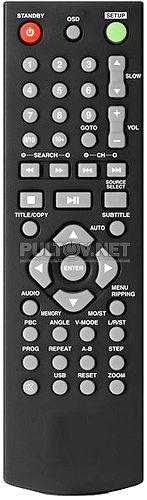MMK-730U, MMK-750U пульт для музыкального центра Mystery
