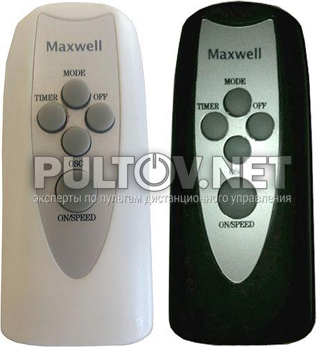 Maxwell MW-3504 BK пульт для наполього вентилятора