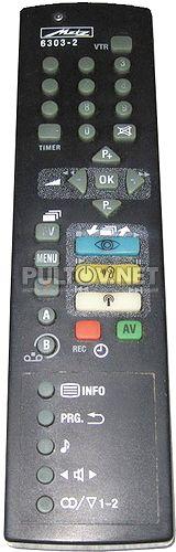 6303-2 пульт для телевизора Metz 72TF87