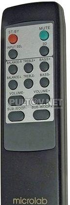 M-930 пульт для компьютерной акустики