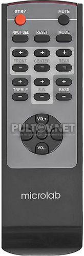 X10 и X15 пульт для акустической системы Microlab