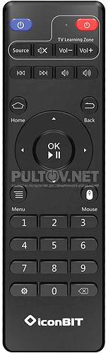 Movie IPTV QUAD пульт для медиаплеера IconBit