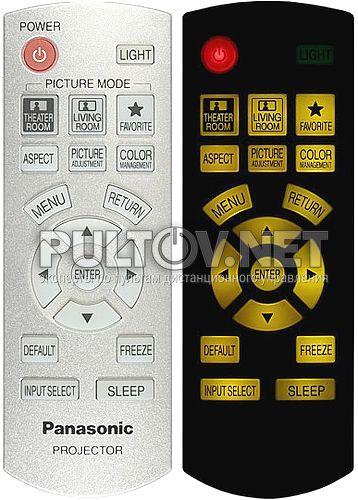 N2QAYB000194 пульт для проектора Panasonic PT-AX200E