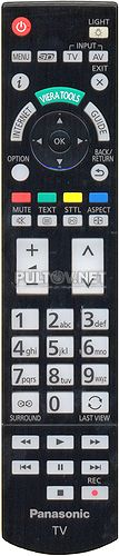 N2QAYB000715 оригинальный пульт для телевизора PANASONIC TX-P65VT50Y и других