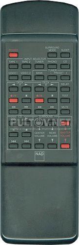 RC-713 пульт для AV-ресивера NAD AV713