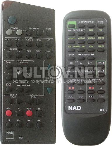 451 пульт для усилителя NAD C350 и др.