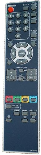 NF021RD пульт для телевизора Funai LC5-D32BB