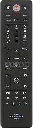 HD Neo 4K T2 пульт для медиаплеера Dune