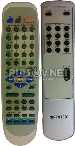 Nippotec NT 8500MR пульт ДУ