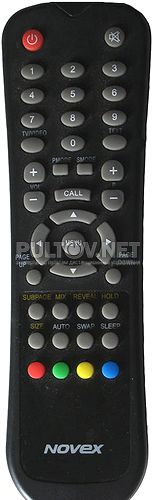 NL-1505 пульт для телевизора Novex