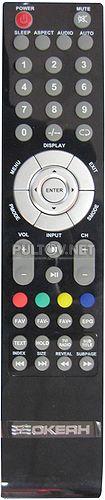 пульт для телевизора ОКЕАН LE-40W3451 (оригинал)