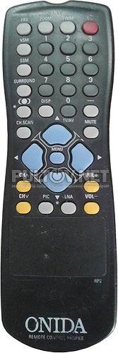 Fujeta RP2 пульт для телевизора Fujeta FTV-29 FTG